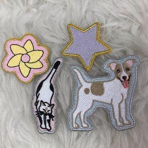 Stoney Clover Lane dog cat patch set